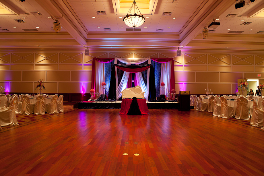 Embassy Grand Purple Paradise Wedding Reception At