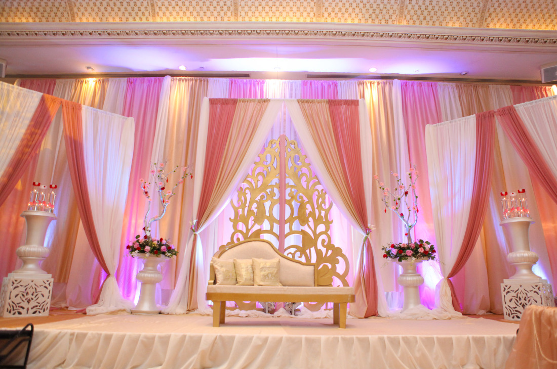 Zainab Amp Arif Wedding Reception At Le Jardin Khazana Creations