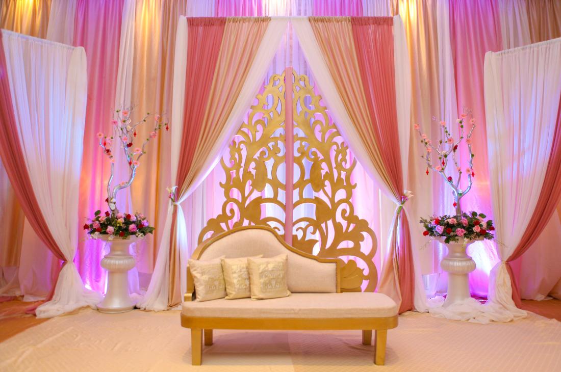 Zainab & Arif - Wedding Reception at Le Jardin - Khazana ...