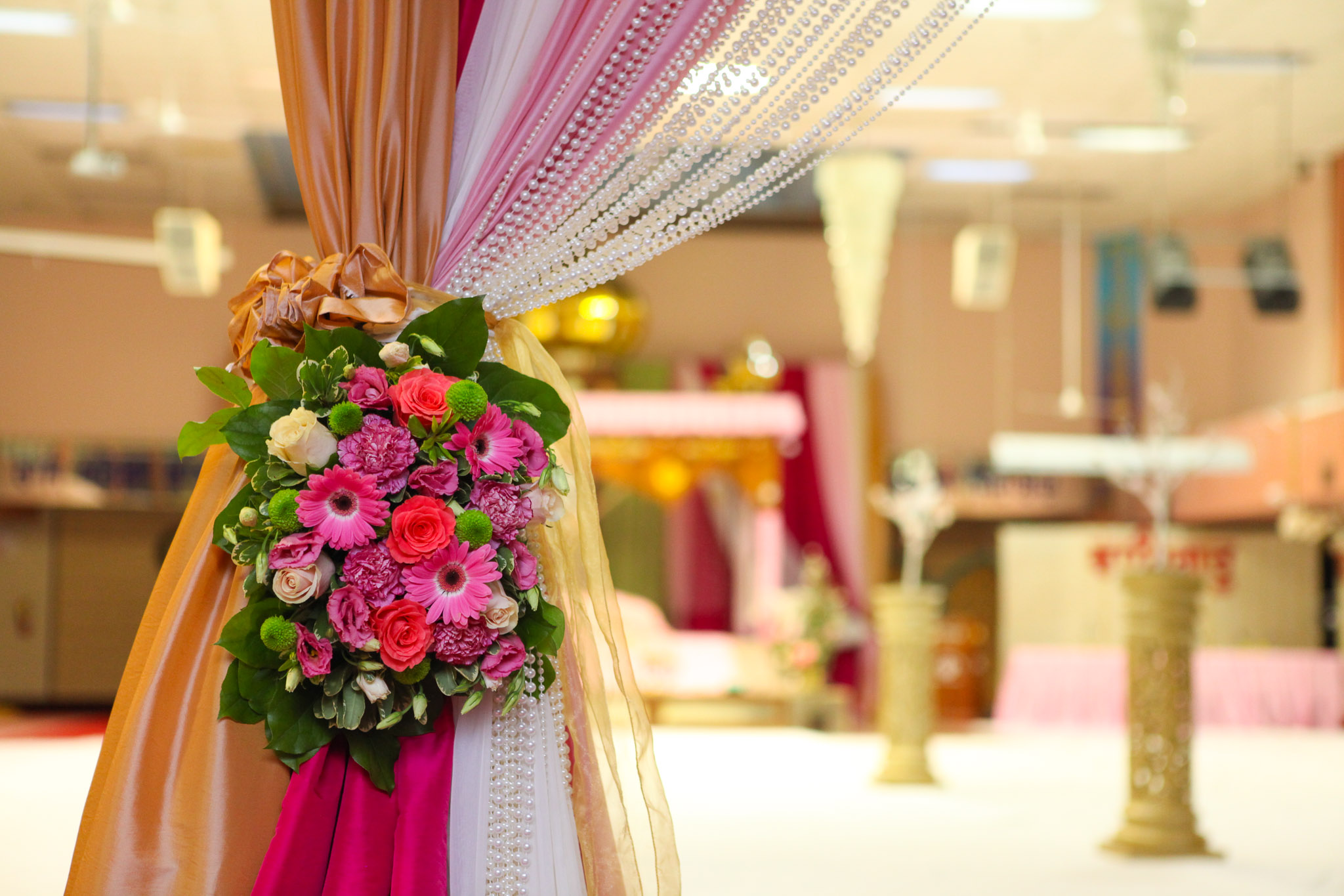 Gurdwara Wedding Decor
