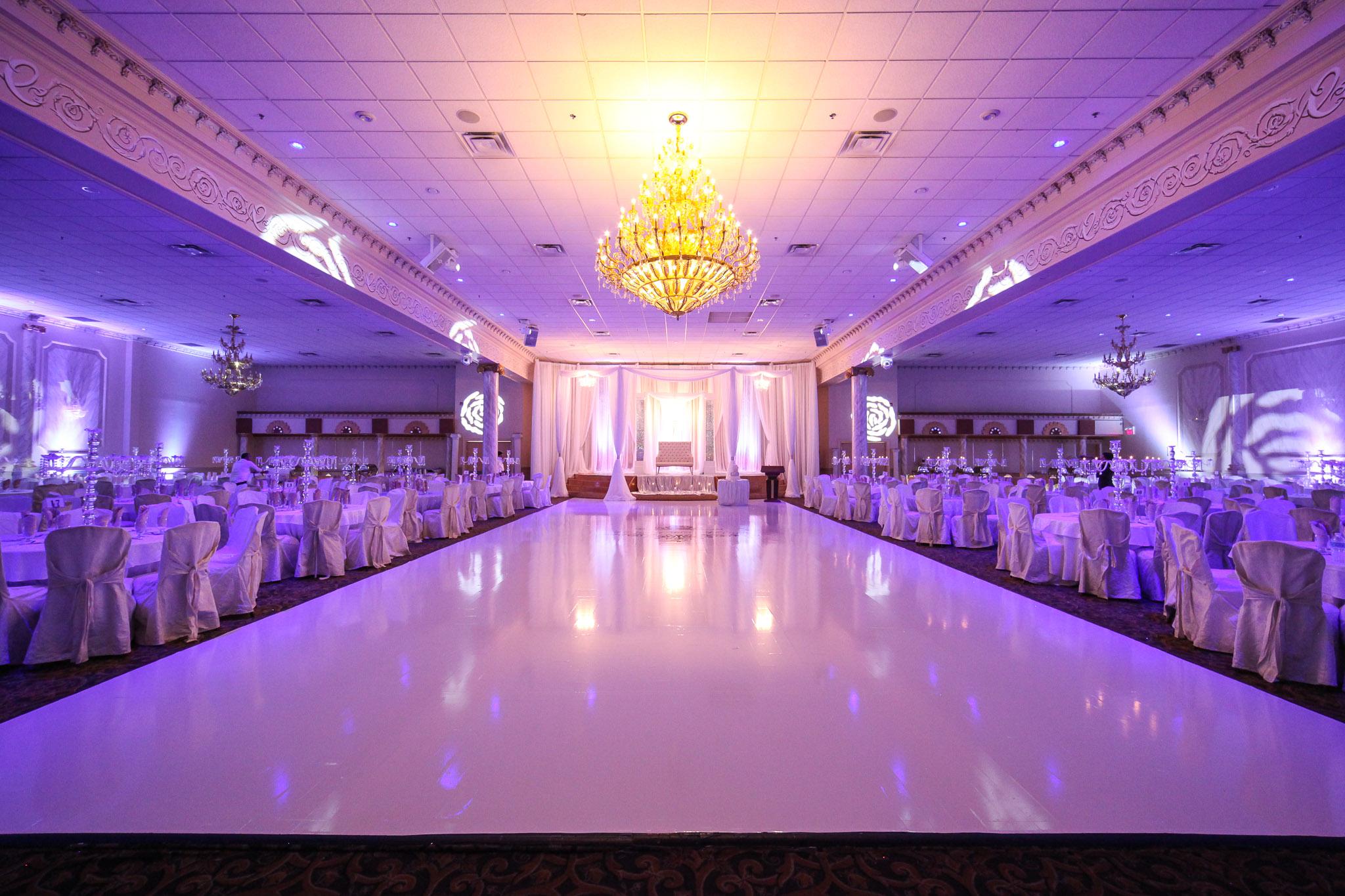 Monica And Mandip Wedding Reception At Chandni Banquet Hall Khazana Creations